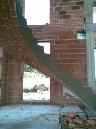 Pin escalera on pinterest - Escaleras de ladrillo ...